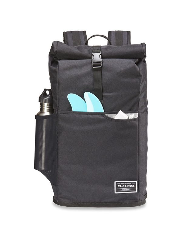 dakine section roll top wet dry 28 litre bag black 4
