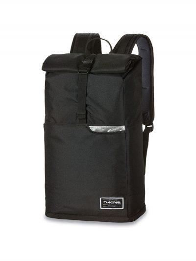 dakine section roll top wet dry 28 litre bag black