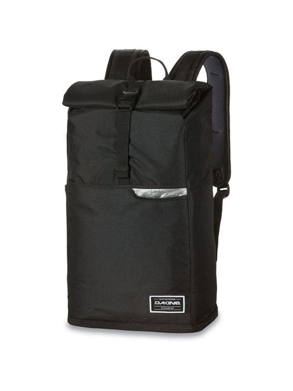 dakine section roll top wet dry 28 litre bag black
