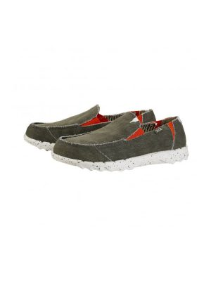 hey dude farty funk slip on mule sage mens
