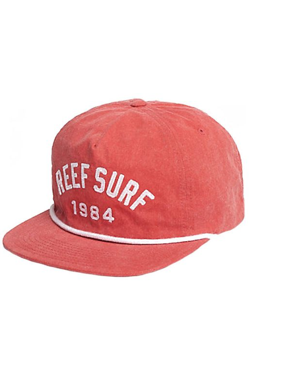 reef ra2yeired span hat red mens
