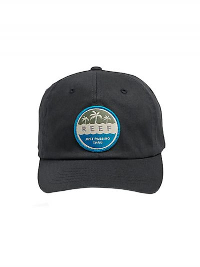 reef ra3f8zbla hour hat black mens