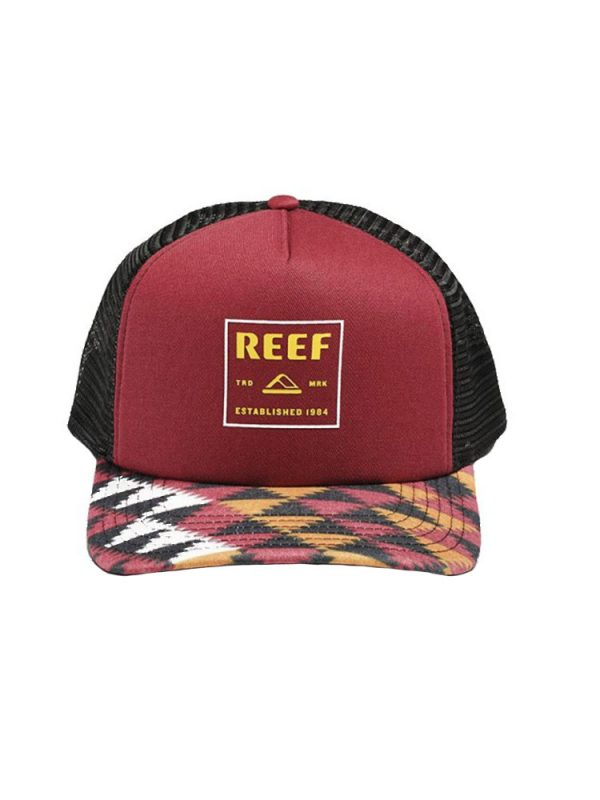 reef rf0a2yedred flow hat red