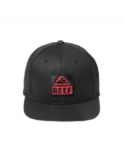 reef rk262bla reef classic block hat black mens