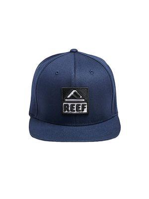 reef rk262blu reef classic block hat blue mens
