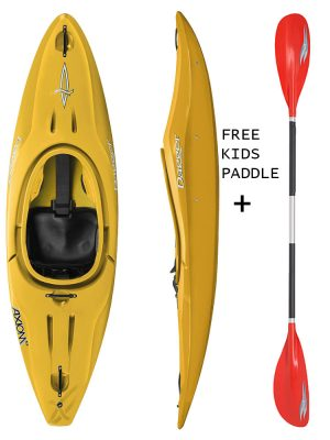 DAGGER AXIOM 6.9 CLUB SAFFRON KIDS SIT IN KAYAK,