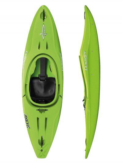 Dagger Axiom 6.9 Club LimeKids Sit in kayak