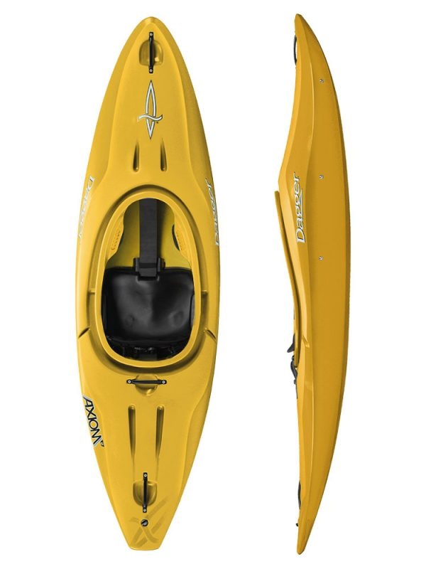 Dagger Axiom 6.9 Club Saffron Kids Sit in kayak