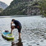 Red-Paddle Co Coiled Leash for SUP Paddleboarding
