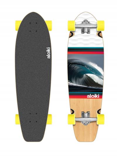 Aloiki CR Kailua 30 x 8.5 Complete Longboard Skateboard