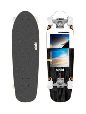 Aloiki CR North 27.5 x 8.25 Complete Longboard Skateboard