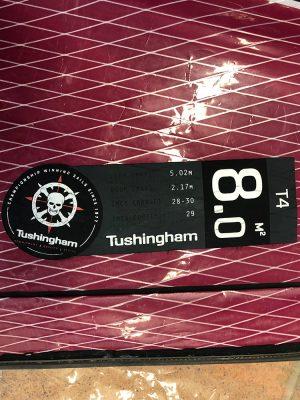 Second Hand Tushingham T4 8.0m