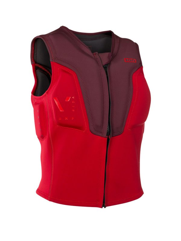 ION Vector amp impact vest red