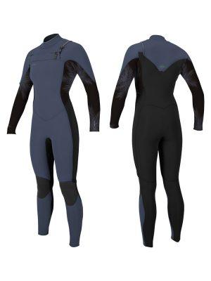 O'Neill Hyperfreak 5 4mm Front zip womens winter wetsuit