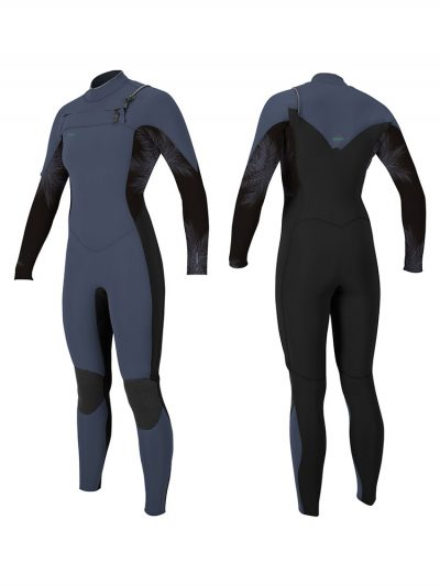 O'Neill Hyperfreak 5 4mm Front zip womens winter wetsuit