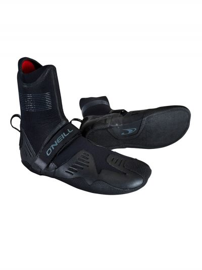 O'Neill Psycho tech 5mm round toe neoprene wetsuit boots