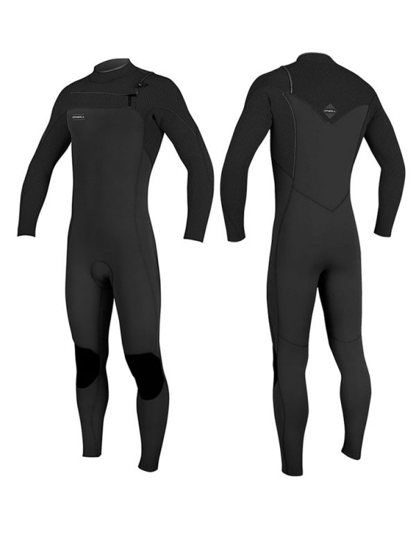 O'neill Hyperfreak 5/4mm FZ Mens Winter Wetsuit 2019 black