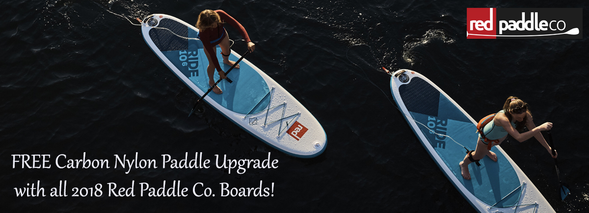 Red paddle co sup sale banner