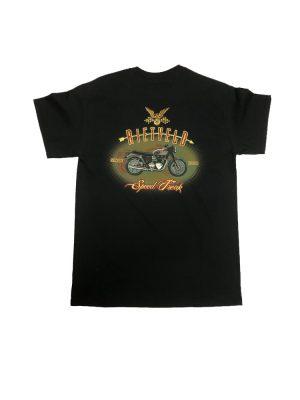 """Rietveld """"Speed Freak"""" Short Sleeved Tshirt - Black"""