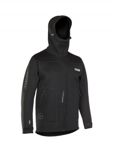Neo Shelter Jacket Amp Front View Black