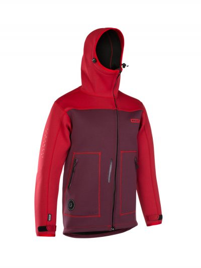 Neo Shelter Jacket Amp Front View Red