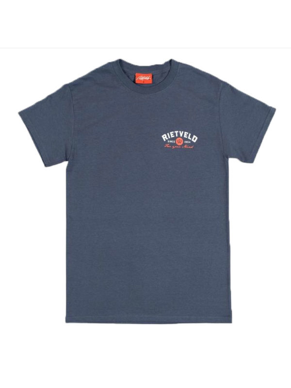"RIETVELD ""SURF TRIPPING"" SHORT SLEEVED TSHIRT – HEATHER NAVY"