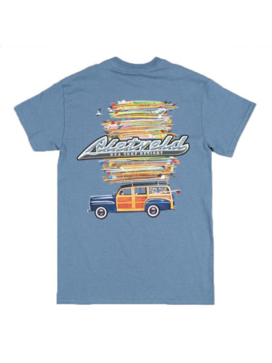 "Rietveld ""Got Boards"" Short Sleeved Tshirt - Blue"