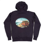 Rietveld Surf Trippin Hoodie Heather Navy