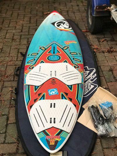 Second Hand 92Ltr RRD Firewave LTD Windsurfing Board