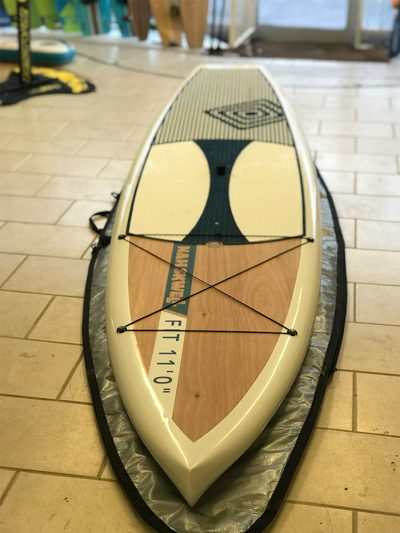 Second Hand Nah Skwell Fit 11' wood paddleboard (Like New)