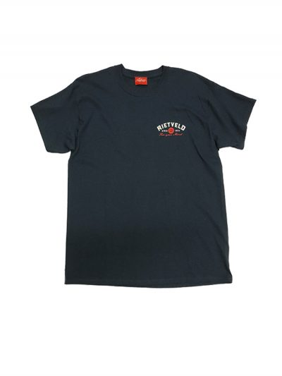 "Rietveld ""Surf Tripping"" Short Sleeved Tshirt - Heather Navy"