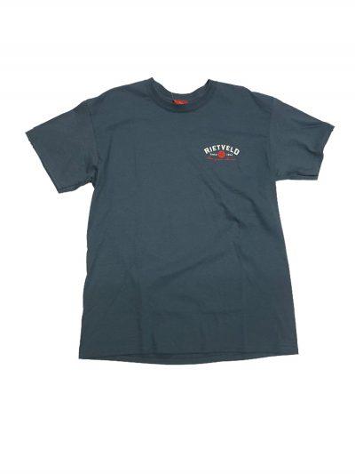 """Rietveld """"Got Boards"""" Short Sleeved Tshirt - Blue"""