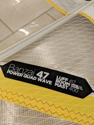 Second Hand 2014 Goya Banzai 4.7m Windsurfing Sail