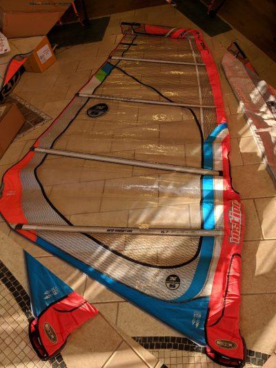 Second Hand North Sails Instinct 5.7m Freeride Windsurfing Sail