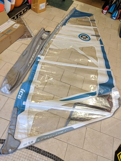 North Ice 5.0m Windsurfing Sail
