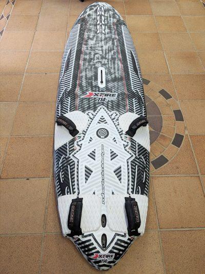 Second Hand RRD X Fire 114ltr V4 Race Windsurfing Board