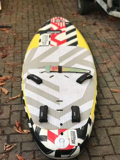 Second Hand RRD Airwindsurf Inflatable Windsurf Board