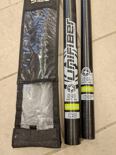 Second Hand 520cm Unifiber C80 80% Carbon Windsurfing Mast