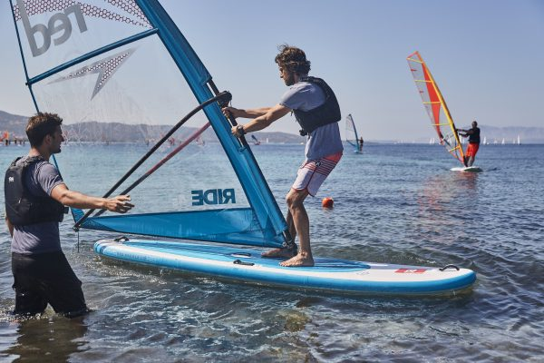 Red Paddle Co Windsurf Action Photo