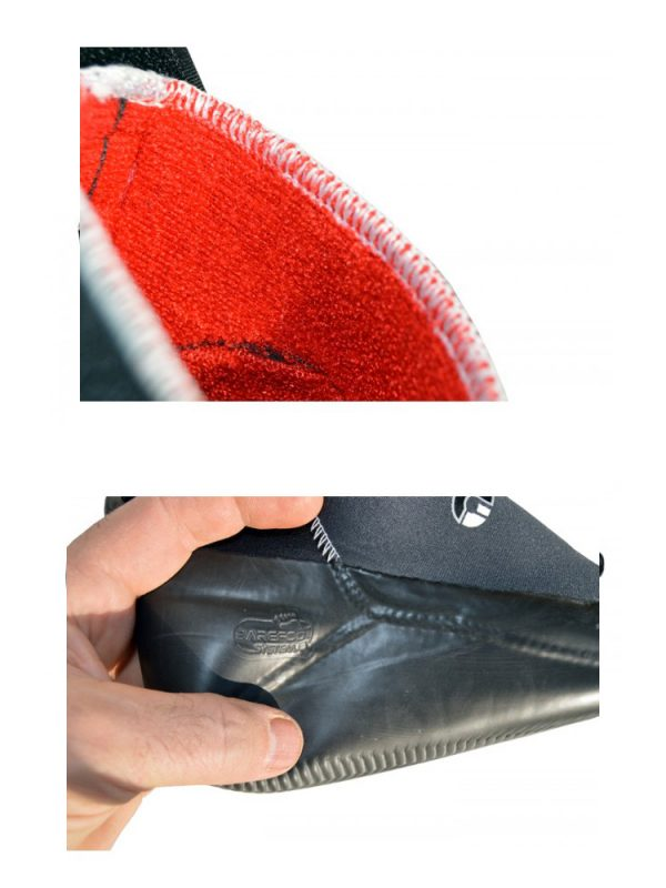 Atan Semi Hot 5mm Neoprene Winter Wetsuit Boots