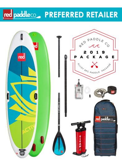 "Red Paddle Co 10'8"" Sport Inflatable SUP Package with Alloy Paddle"