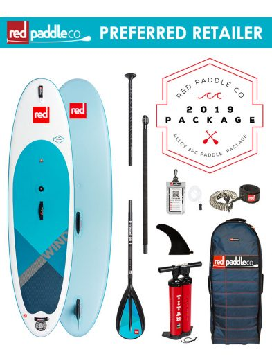 Red Paddle Co 2019 10'7 Wind Inflatable windsup Paddleboard
