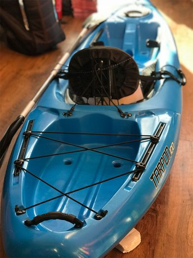 Second Hand Wilderness Tarpon 100 blue sit on top kayak