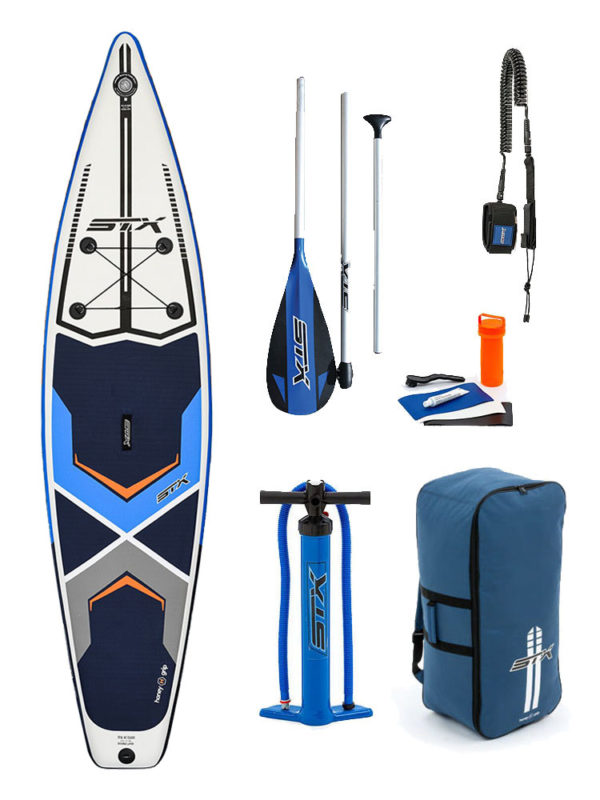 """11'6""""X 32"""" Tourer STX 2019 Inflatable Paddleboard SUP Package"""