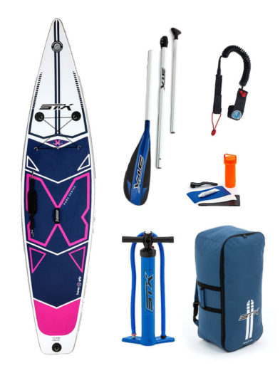 "11'6""X 32"" X-Light Pink Tourer STX 2018 Inflatable Paddleboard SUP Package"