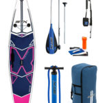"11'6""X 32"" X-Light Pink Tourer STX 2019 Inflatable Paddleboard SUP Package"