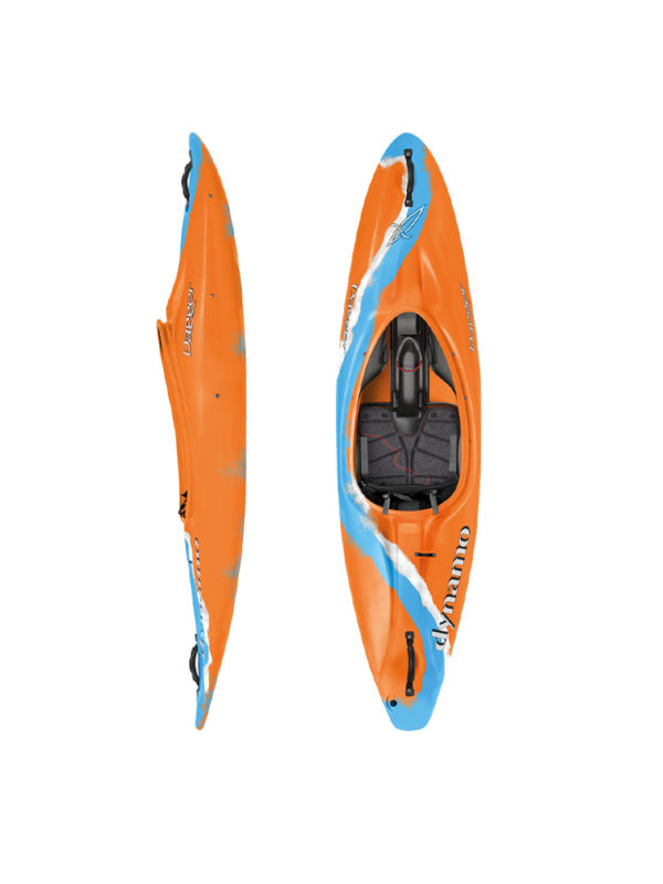 Dagger Dynamo 7.4 Action Blaze Kids Kayak