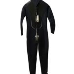 ION Jewel 5/5mm Back Zip Womens Autumn/ Winter Wetsuit (SIZE Large ONLY) Back View
