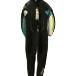 ION Jewel Semi-Dry 5/4mm Back Zip Womens Autumn/ Winter Wetsuit (SIZE XL ONLY) Back View