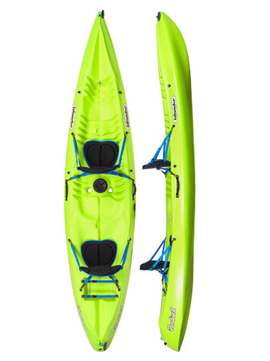 Islander Paradise 2 Double Sit On Top Kayak Citrus